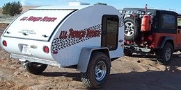 Off-road teardrop trailer by Little Guy