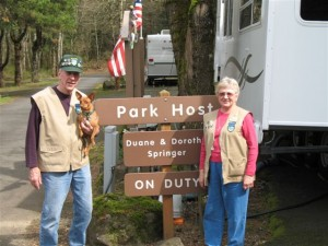 RV volunteers needed for Oregon state campgrounds