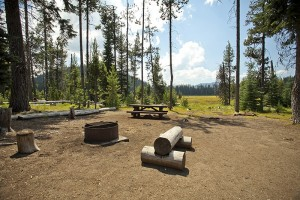 Boondocking at Silver Creek Marsh Campground in the Fremont National Forest in So. Oregon
