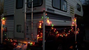 Happy holidays from our camper to your heart