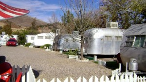 Shady Dell vintage travel trailers are classics
