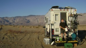 Dry camping on public land near California's Anza-Borrego Desert State Park