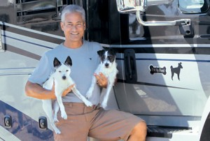 Olympic diver Greg Louganis loves his motorhome