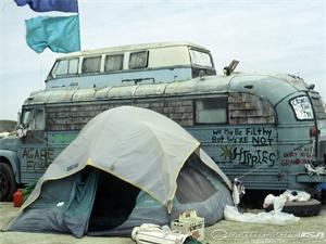 'Burning Man' destination for alternative RVs