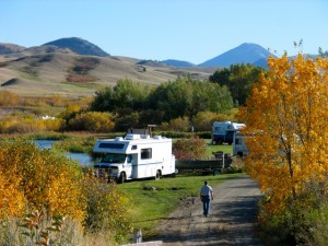 Autumn RV destination # 1: Bear Paw Mountains, a picturesque place in northeast Montana