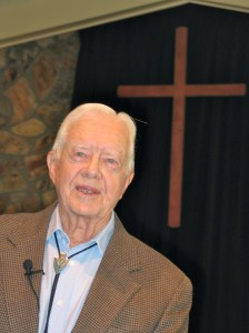 Former President Jimmy Carter in my thoughts