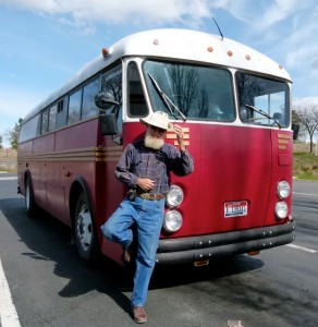 Another sweet school bus conversion -- Ira Woodward's 1954 Crown Coach
