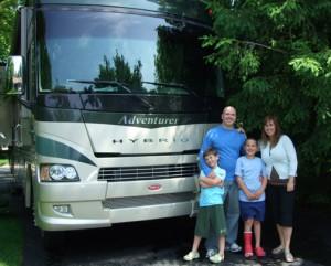 Herzog family traveling Northwest this summer