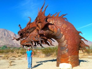 RV Short Stop -- stunning desert sculptures, all free for the looking