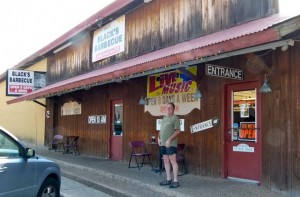 'How about that BBQ' in Lockhart, Texas