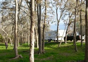 Lockhart (Texas) State Park near world-class BBQ