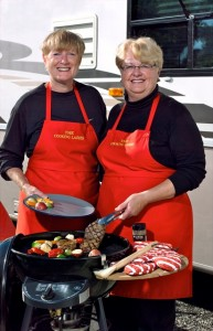 'Cooking in an RV Kitchen' -- part 1 with The Cooking Ladies