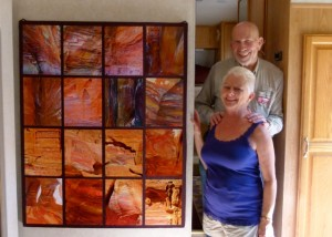 RVing artists, part 1 -- Terry and Ruth Hager
