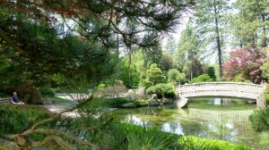 Spokane's Manito Park peaceful, cool RV Short Stop