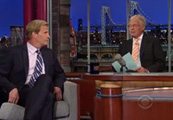 Actor Jeff Daniels talks RVing on David Letterman