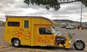 David Castillo's 'Alaska Cruiser' motorcycle RV