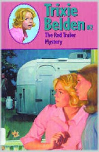 Summer reads for young RVers, # 2 - 'The Red Trailer Mystery' by Julie Campbell