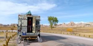 Public campgrounds along the way - Badlands National Park, Nebraska's Chadron State Park