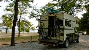 More public campgrounds along the way - Nebraska National Forest, COE Harlen County Lake