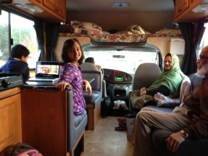 Thanksgiving RV trip to Florida 'Ali family style'
