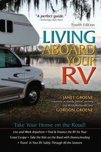More RV holiday gift suggestions: 'Living Aboard Your RV' 4th edition by Janet and Gordon Groene