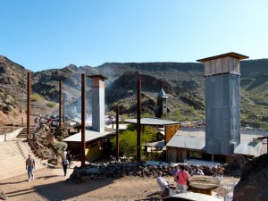 2012 top story on RV Short Stops -- The Nellie E Saloon near Parker, Ariz