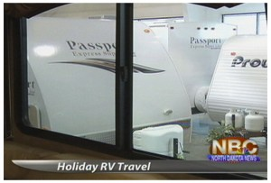 Millions on the road in RVs over Holidays