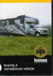 Information on buying a recreation vehicle
