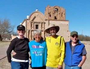 Catching up with RV friends Kevin and Jane Justis a few miles north of Mexico's border