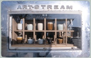 ArtStream Nomadic Gallery at 'Art of the Pot' Studio Tour, May 10-12 ('13) in Austin, Tx