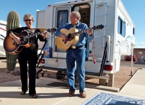 Truck campers, Part 4: Ease of driving, good times, guitars