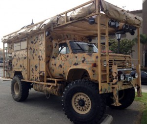 'Survivor Truck Bug Out Vehicle,' not your average weekend camper