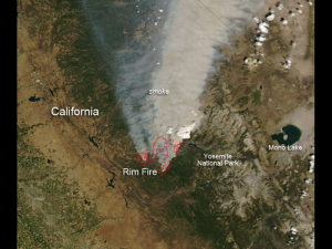 If RV traveling the West, check out this map of active wildfires