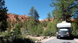 Red Canyon Campground - next to Bryce Canyon Utah