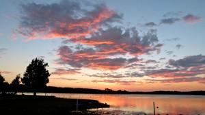 Friendly folk, amazing sunsets at Pineknot Molded Fiberglass RV Gathering