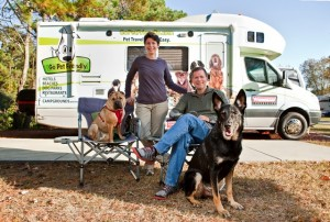 Holiday RV travel with pets, Part 1 -- 'Millions of furry friends hit the road'