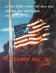 Dec. 7 - National Pearl Harbor Remembrance Day