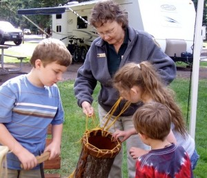Fulltime solo RVer Joyce Caudell volunteers for another summer at Oregon's Wallowa Lake State Park