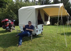 RVing and Motorcycling, part 1: 'Great Summer Travel Combo'