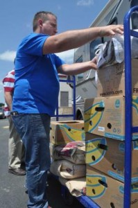 Arkansas newspaper reports: 'RV crosses country to help tornado victims'