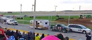 'Boat and Camper Trailer Race' -- one of the growing RV motorsports