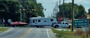 Pickup-5th wheel-boat combination in Illinois