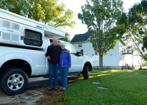 Touching bases with longtime RV friends on our autumn tour of America