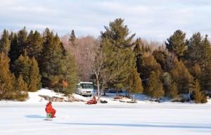 Winter RVing, part 3 --  Chris Dougherty loves having