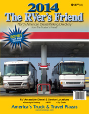 2014 'The RVer's Friend' -- travel centers in U.S., Canada