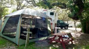 RVer Jimmy Smith reflects on a rainy day on the Coastal Bend of Texas