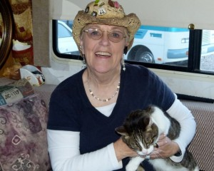 RVing widow Judy Howard becomes author after traveling 'Coast to Coast with a Cat and a Ghost'