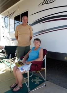 Two weeks in Yuma, new RV friends Pat & Nancy