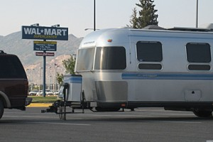 End to free overnight parking at Wal-Mart?