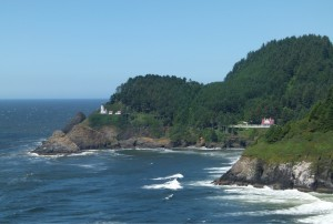 Camping near Oregon's Heceta Head Lighthouse